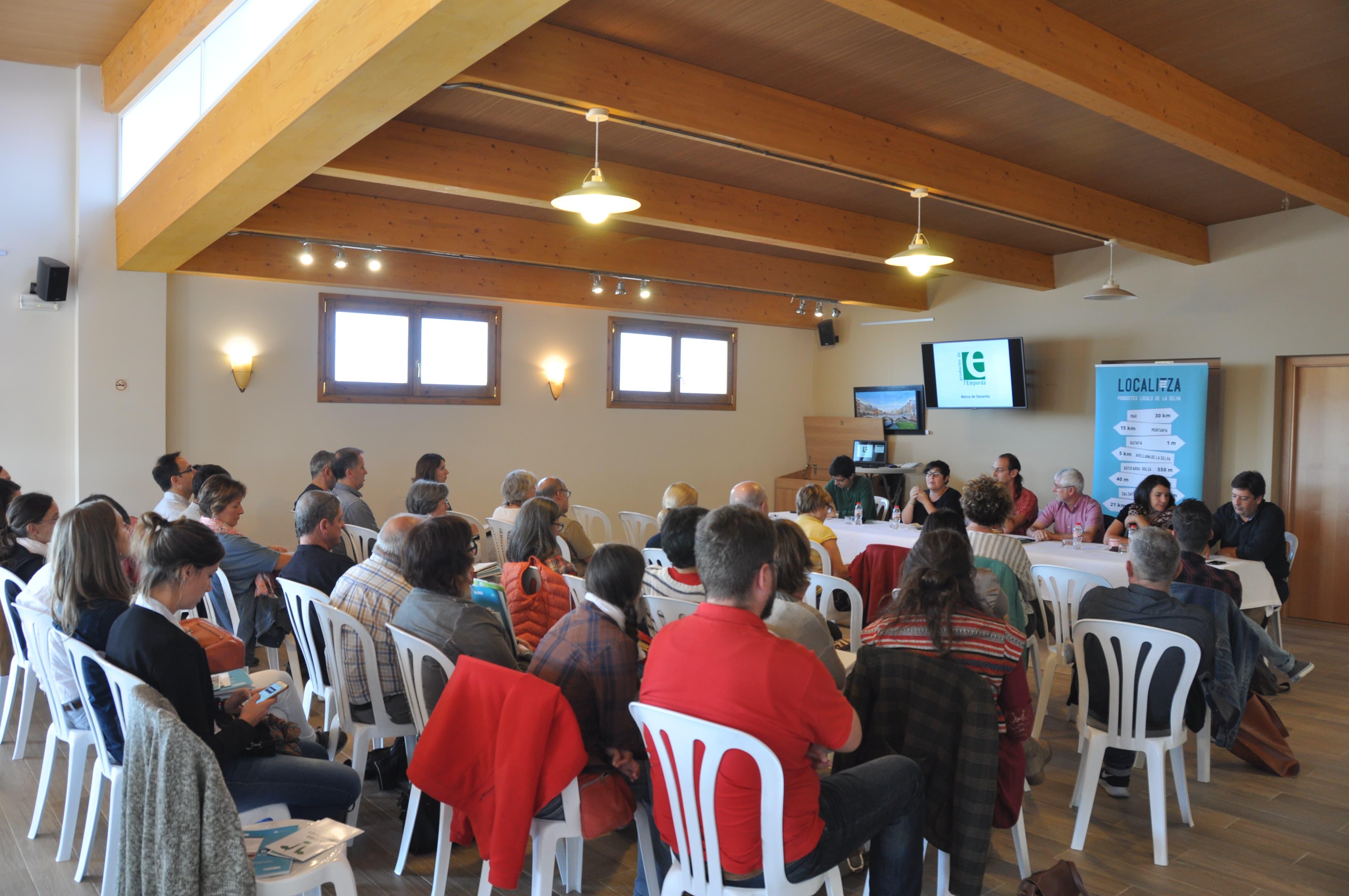Més De 40 Persones A La Jornada De Producte Local A La Selva