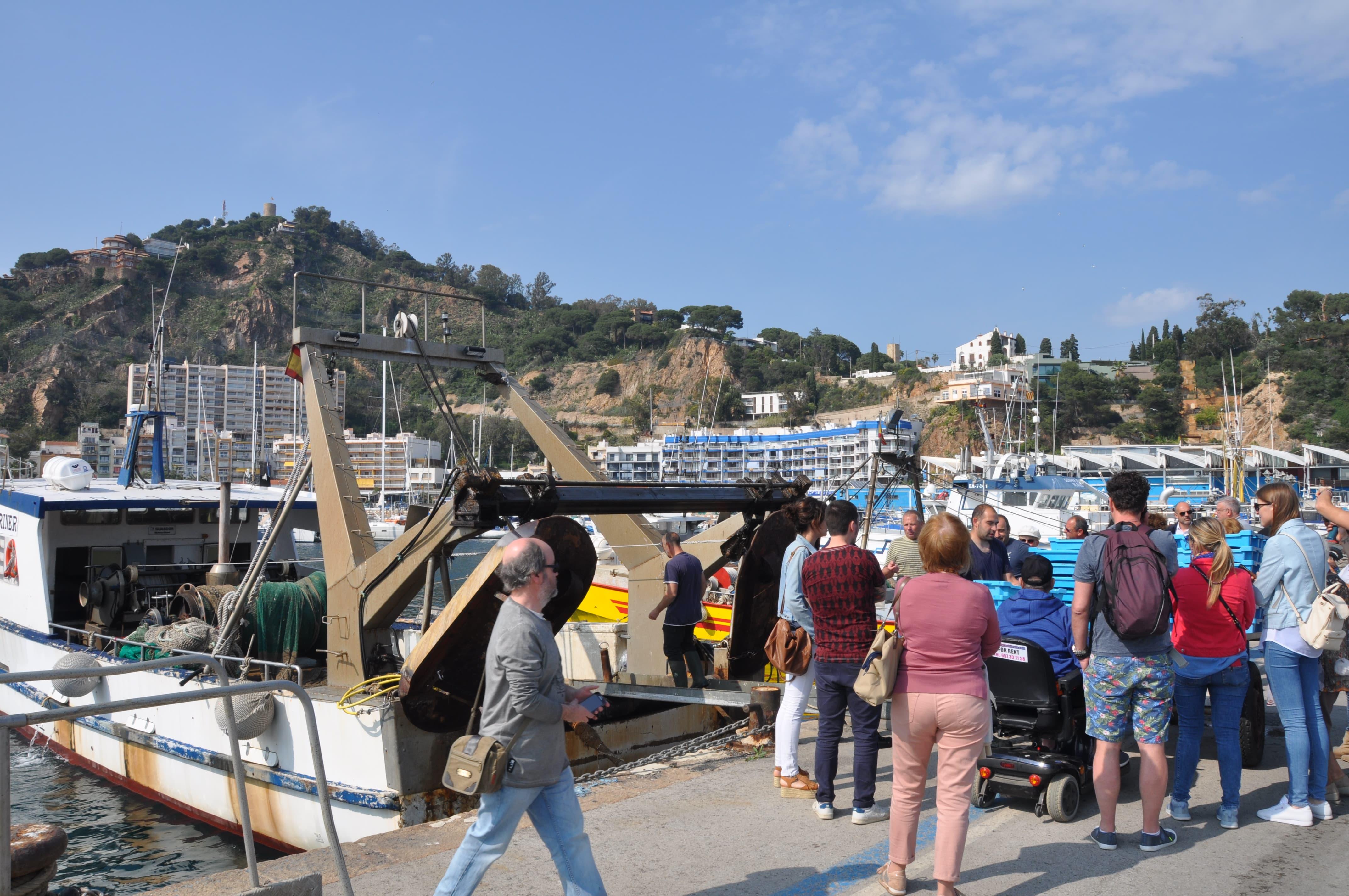 Visita Professional Al Port Pesquer De Blanes