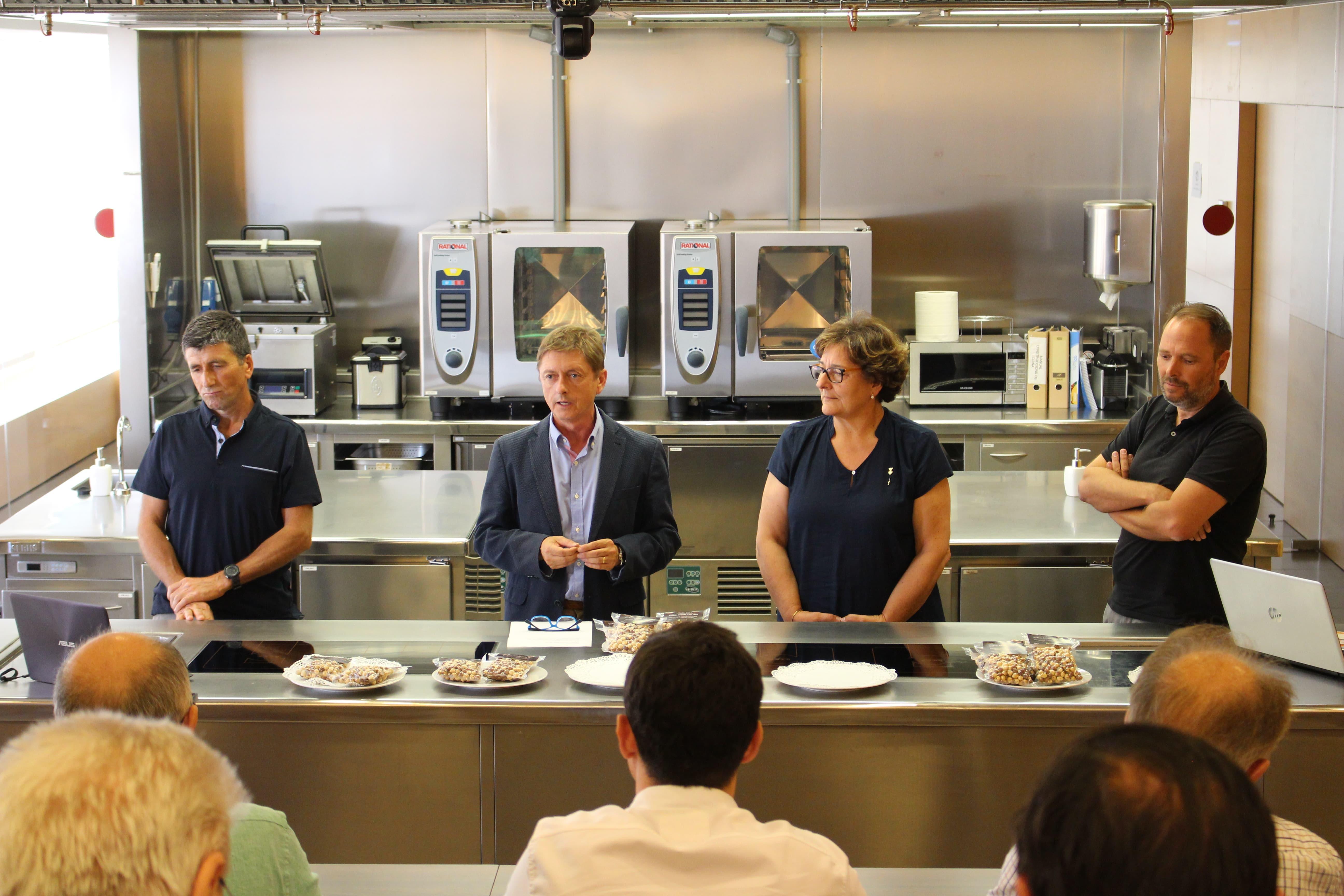 El Nou Producte D'avellana De Brunyola Es Presenta Al Food Lab