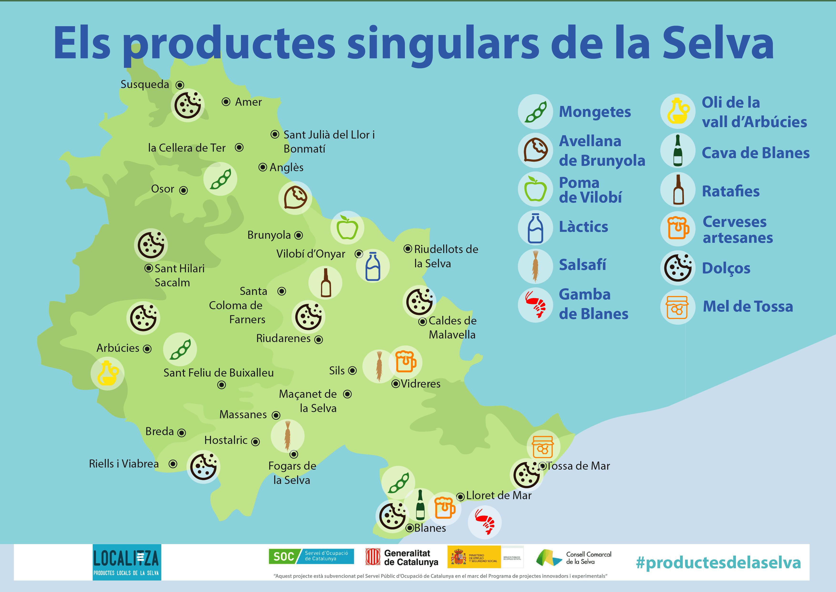 Coneixes Els Productes Singulars De La Selva?